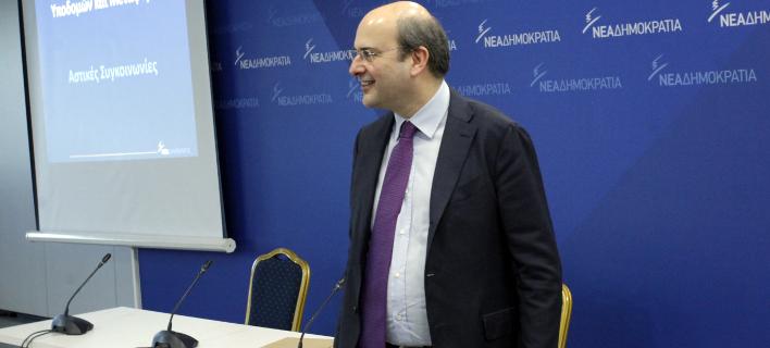 Ο Κωστής Χατζηδάκης (Φωτογραφία: EUROKINISSI/ ΧΡΗΣΤΟΣ ΜΠΟΝΗΣ)