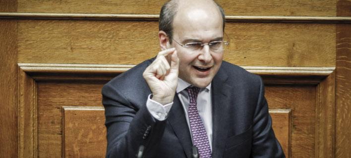 Χατζηδάκης: Δεν θα δεχθούμε παιχνίδια του ΣΥΡΙΖΑ και του Καμμένου για το Σκοπιανό