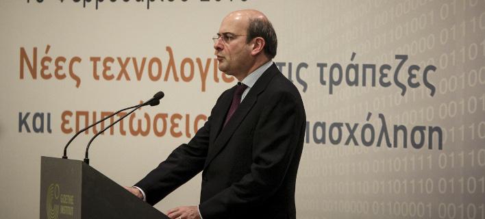 Ο Κωστής Χατζηδάκης (Φωτογραφία: EUROKINISSI/ΣΩΤΗΡΗΣ ΔΗΜΗΤΡΟΠΟΥΛΟΣ)