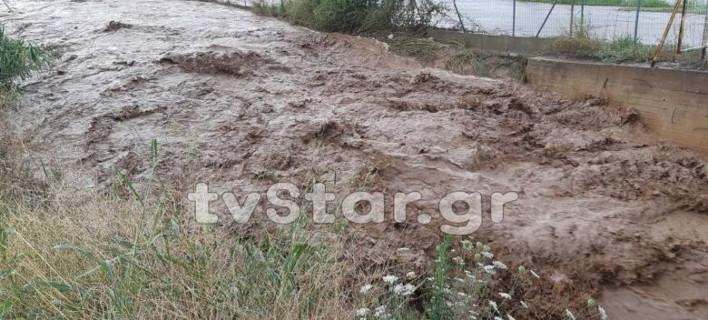 Επι ποδός οι δυνάμεις να μην μπουν τα νερά σε σπίτια, φωτογραφία: tvstar.gr