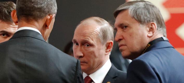 Η πιο ψυχρή χειραψία όλων των εποχών -Ομπάμα και Πούτιν αδυνατούν να κρύψουν την αντιπάθειά τους [εικόνες & βίντεο]