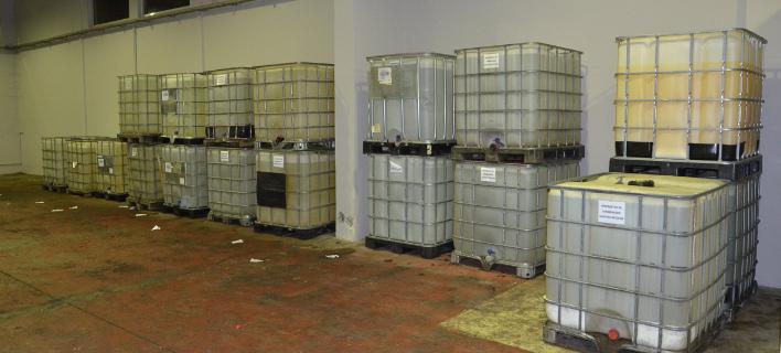 Εξαρθρώθηκε σπείρα που εισήγαγε χημικά από τη Βουλγαρία -Για τη νόθευση καυσίμων [εικόνες]
