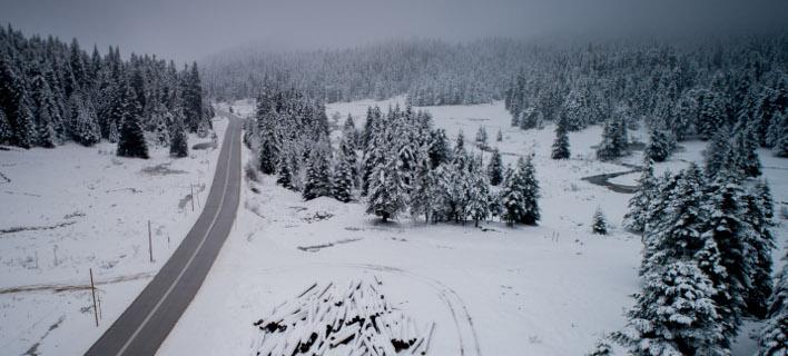 χιόνια/Φωτογραφία αρχείου: Eurokinissi