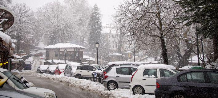 Χιόνη και στα βόρεια προάστια της Αθήνας θα φέρει η κακοκαιρία «Χιόνη»