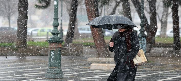 χιόνια στη β. Ελλάδα/Φωτογραφία αρχείου: Eurokinissi