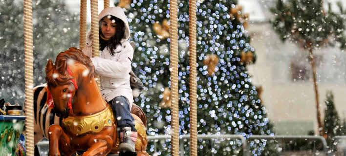 Λευκά Χριστούγεννα/Φωτογραφία: Eurokinissi