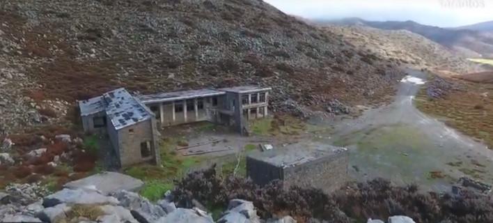 Το χιονοδρομικό κέντρο-φάντασμα στον Ψηλορείτη -Μοιάζει με στάβλους πολυτελείας [βίντεο]