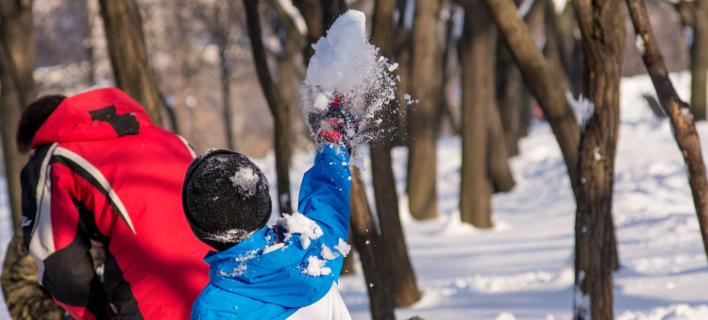 Τα παιδιά του Σέβερανς μπορούν πλέον να παίζουν χιονοπόλεμο/ Φωτογραφία αρχείου: shutterstock
