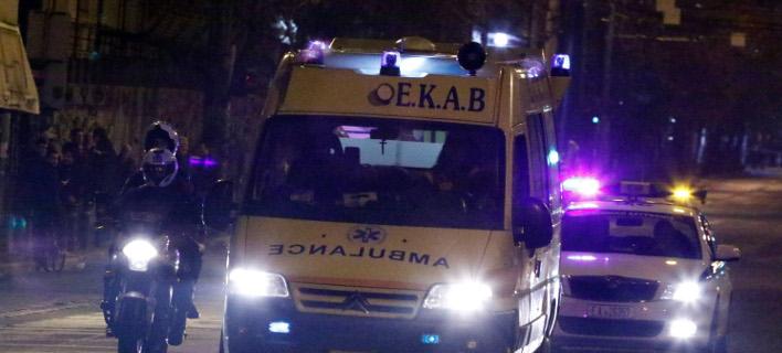Μετανάστες τραυμάτισαν πολίτη στη Χίο, Φωτογραφία: Eurokinissi