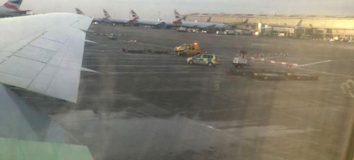 Φωτογραφία: Twitter- Αεροδρόμιο Χίθροου