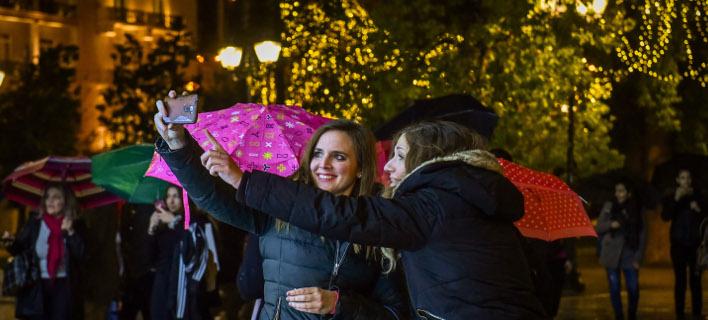 Χριστούγεννα στην Αθήνα, φωτογραφία: EUROKINISSI/ ΤΑΤΙΑΝΑ ΜΠΟΛΑΡΗ