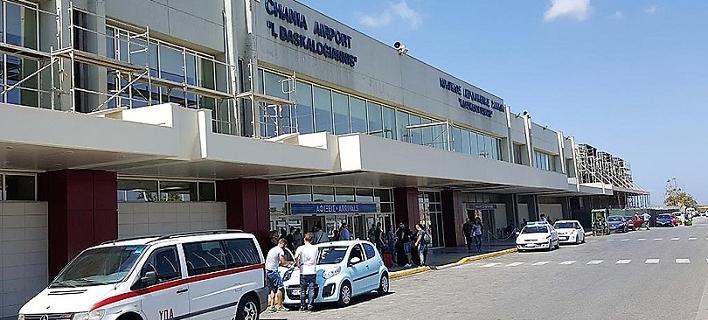 Το αεροδρόμιο των Χανίων