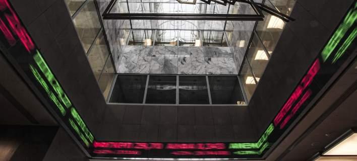 Οριακή άνοδος για το Χρηματιστήριο -Με 0,07% (Φωτογραφία: Nikos Libertas / SOOC)