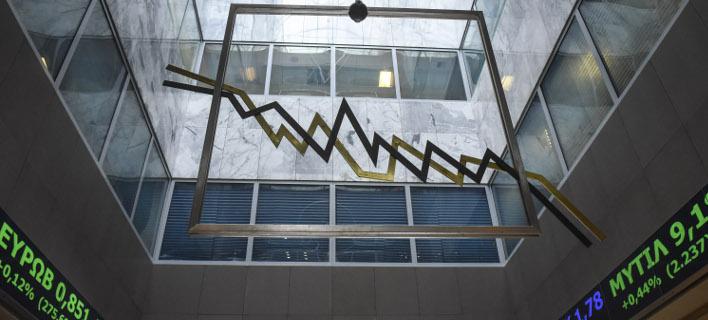 Ηπια πτώση στο Χρηματιστήριο (Φωτογραφία: EUROKINISSI/ΤΑΤΙΑΝΑ ΜΠΟΛΑΡΗ)