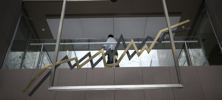 Οριακή πτώση στο Χρηματιστήριο/ Φωτογραφία: EUROKINISSI- ΒΑΣΙΛΗΣ ΡΕΜΠΑΠΗΣ