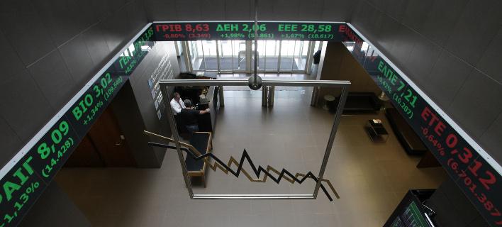 Ηπια πτώση στο Χρηματιστήριο (Φωτογραφία: EUROKINISSI/ ΓΙΑΝΝΗΣ ΠΑΝΑΓΟΠΟΥΛΟΣ)