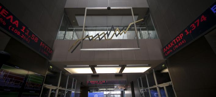 Με αρνητικό πρόσημο έκλεισε το χρηματιστήριο/ Φωτογραφία: EUROKINISSI- ΒΑΣΙΛΗΣ ΡΕΜΠΑΠΗΣ