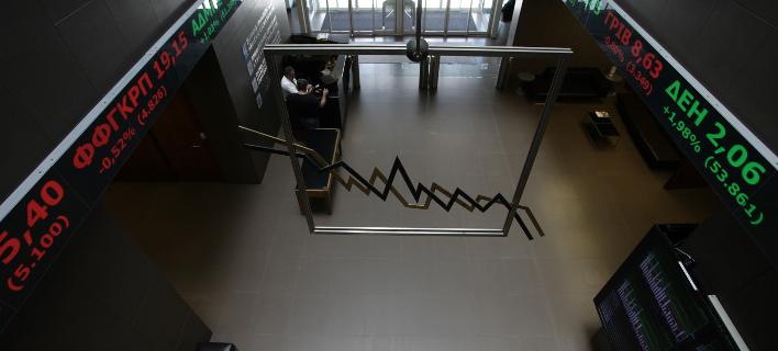 Πτώση στο Χρηματιστήριο (Φωτογραφία: EUROKINISSI/ΓΙΑΝΝΗΣ ΠΑΝΑΓΟΠΟΥΛΟΣ)