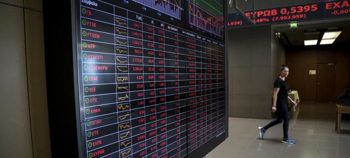 Με άνοδο έκλεισε το Χρηματιστήριο/ Φωτογραφία: EUROKINISSI- ΒΑΣΙΛΗΣ ΡΕΜΠΑΠΗΣ