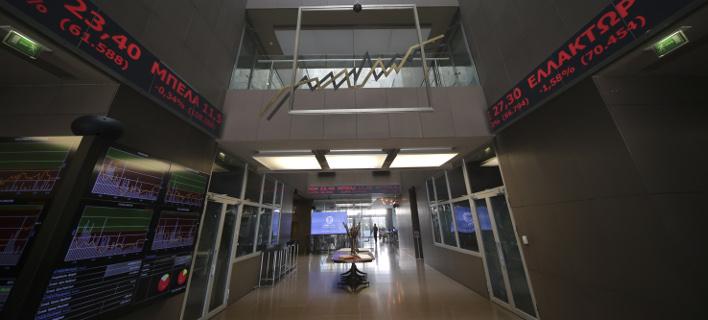 Ηπια άνοδος στο Χρηματιστήριο/ Φωτογραφία: EUROKINISSI- ΒΑΣΙΛΗΣ ΡΕΜΠΑΠΗΣ
