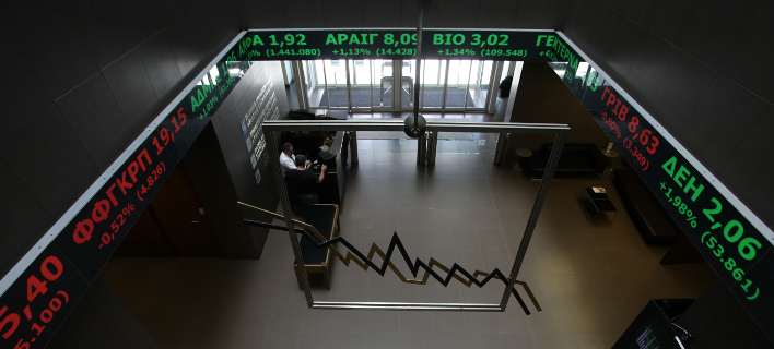 Ηπια άνοδος στο Χρηματιστήριο (Φωτογραφία: EUROKINISSI/ ΓΙΑΝΝΗΣ ΠΑΝΑΓΟΠΟΥΛΟΣ)