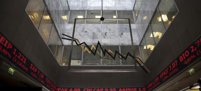 Μικρή άνοδος στο Χρηματιστήριο/ Φωτογραφία: EUROKINISSI- ΒΑΣΙΛΗΣ ΡΕΜΠΑΠΗΣ