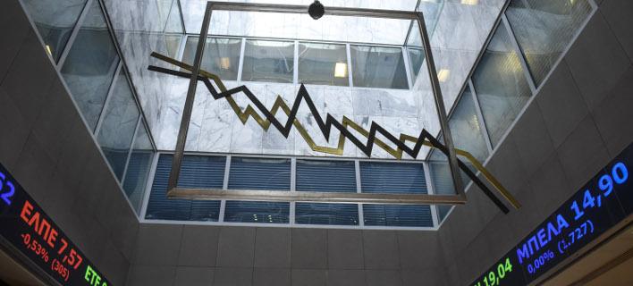 Υποτονικό το κλίμα στο Χρηματιστήριο (Φωτογραφία: EUROKINISSI/ΤΑΤΙΑΝΑ ΜΠΟΛΑΡΗ)