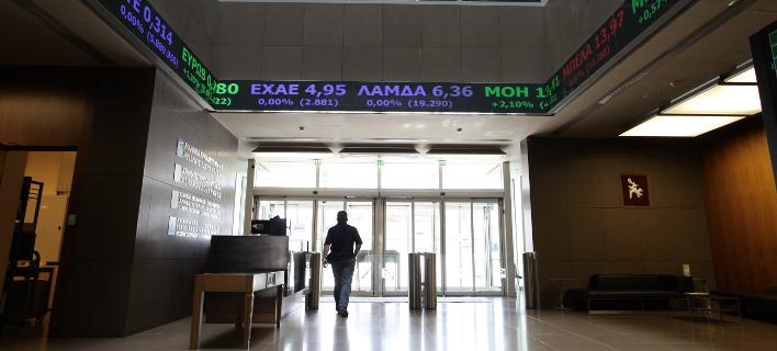 Ανοδος στο χρηματιστήριο (Φωτογραφία: EUROKINISSI/ΓΙΑΝΝΗΣ ΠΑΝΑΓΟΠΟΥΛΟΣ)