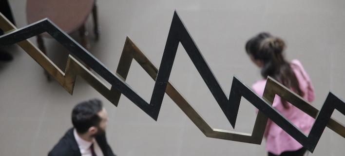 Ηπια άνοδος στο Χρηματιστήριο (Φωτογραφία: EUROKINISSI/ΓΙΑΝΝΗΣ ΠΑΝΑΓΟΠΟΥΛΟΣ)