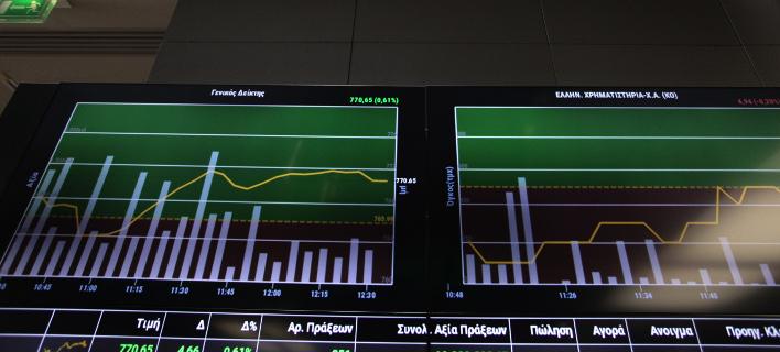 Πτώση στο χρηματιστήριο έπειτα από 7 συνεδριάσεις (Φωτογραφία: EUROKINISSI/ΓΙΑΝΝΗΣ ΠΑΝΑΓΟΠΟΥΛΟΣ)