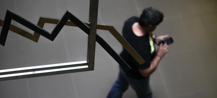 Περιορίστηκαν οι απώλειες στο Χρηματιστήριο (Φωτογραφία: EUROKINISSI/ΓΙΑΝΝΗΣ ΠΑΝΑΓΟΠΟΥΛΟΣ)