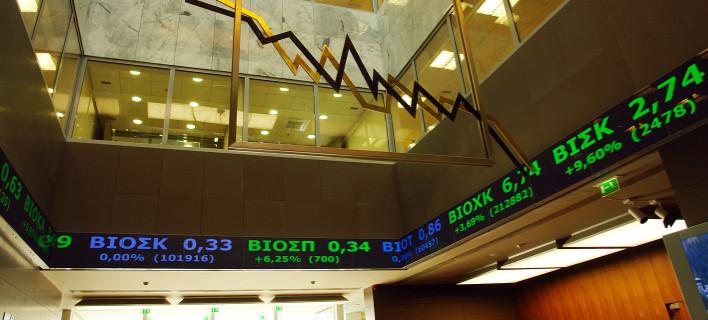 Kραχ στο Χρηματιστήριο Αθηνών - Εκλεισε με πτώση -10,54%, κάτω από τις 600 μονάδες