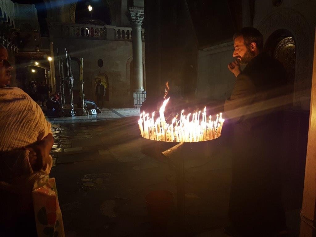 Χριστούγεννα στην Ιερουσαλήμ! Το κλίμα στον Ιερό Ναό του Παναγίου Τάφου