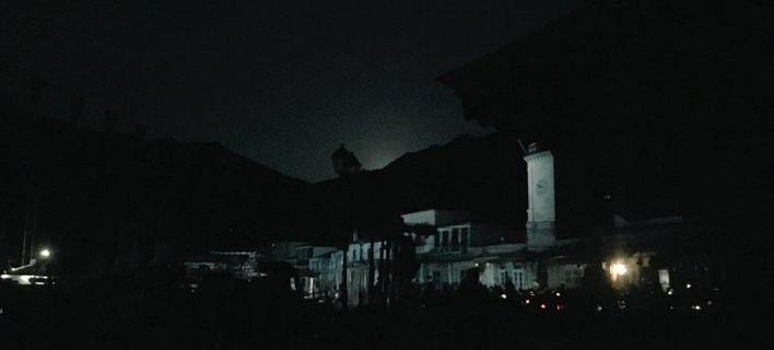 Μπλακ άουτ στην Υδρα/Φωτογραφία: Twitter