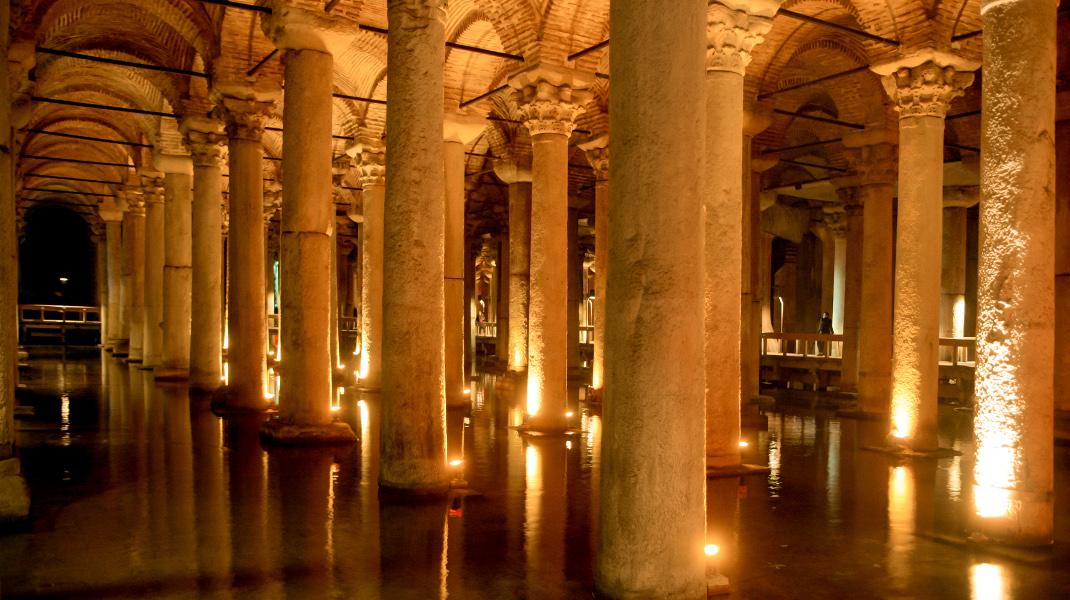 Το υδραγωγείο του Ιουστινιανού στην Κωνσταντινούπολη -Ενα αριστούργημα της Βυζαντινής μηχανικής -Φωτογραφία: Intimenews/ΚΟΤΣΙΡΕΑΣ ΗΛΙΑΣ