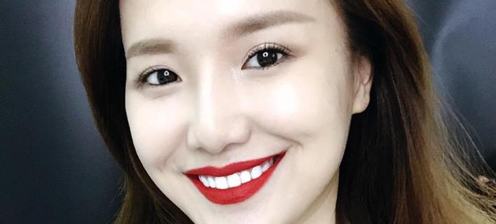 Η Yuya Mika χαμογελαστή /Φωτογραφία: Instagram/heyuhong7