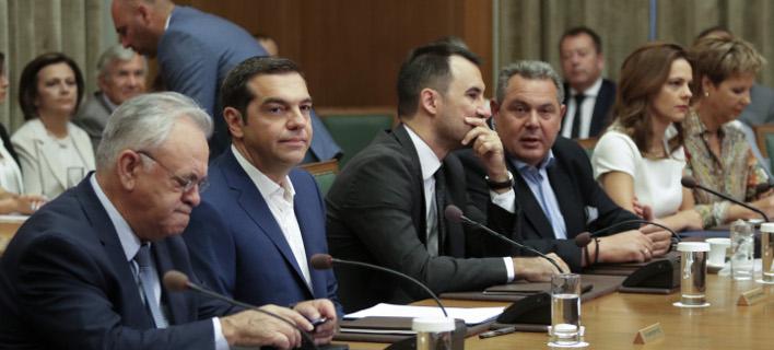 Υπουργικό συμβούλιο συγκαλεί ο Τσίπρας τη Τρίτη 16/10/2018 -Φωτογραφία: Eurokinissi/ΠΑΝΑΓΟΠΟΥΛΟΣ ΓΙΑΝΝΗΣ