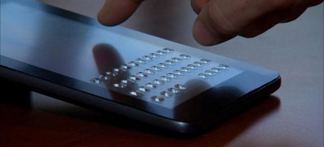 «Τρελή» τεχνολογία κάνει το πληκτρολόγιο να αναδύεται ανάγλυφα στην οθόνη αφής των smartphones [βίντεο]