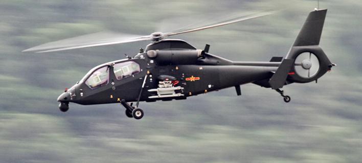 Πρώτη πτήση κινεζικού στρατιωτικού ελικοπτέρου -Ελαφρύ και ταχύτατο [εικόνες & βίντεο]