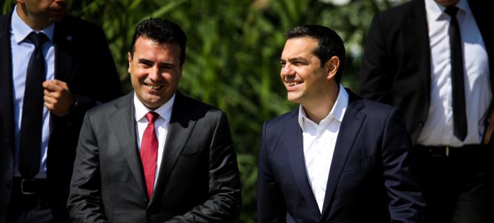 Συμφωνία των Πρεσπών/Φωτογραφία: Eurokinissi