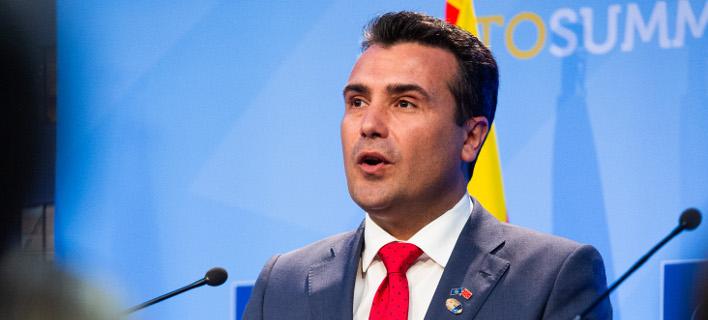 Ζόραν Ζάεφ (Φωτογραφία: EUROKINISSI/ΝΑΤΟ)