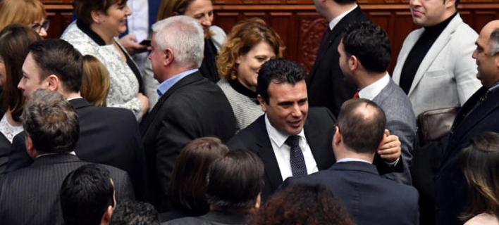 Εφτασε στο ΥΠΕΞ από τα Σκόπια η Συμφωνία των Πρεσπών /Φωτογραφία: Εurokinissi