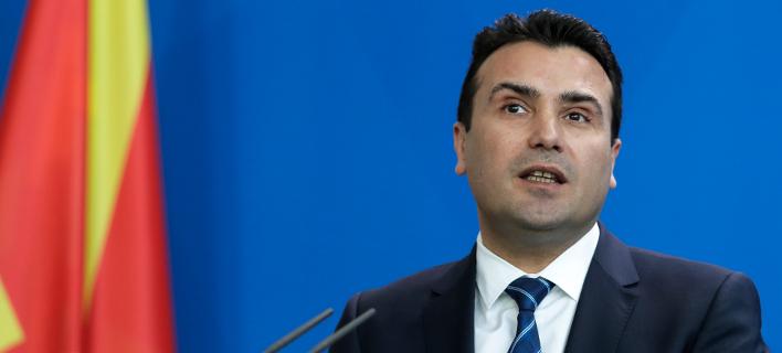 Ο πρωθυπουργός της ΠΓΔΜ, Ζόραν Ζάεφ (Φωτογραφία: ΑΡ/Markus Schreiber)