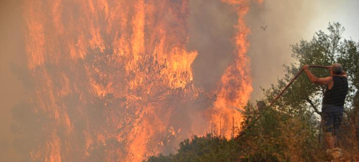Κοντονής, Αποστόλου και Φάμελλος στη Ζάκυνθο για λήψη μέτρων μετά τις πυρκαγιές