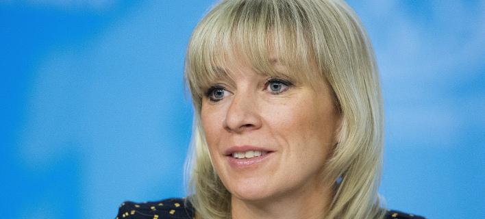 Η Μαρία Ζαχάροβα (Φωτογραφία: AP/ Alexander Zemlianichenko)