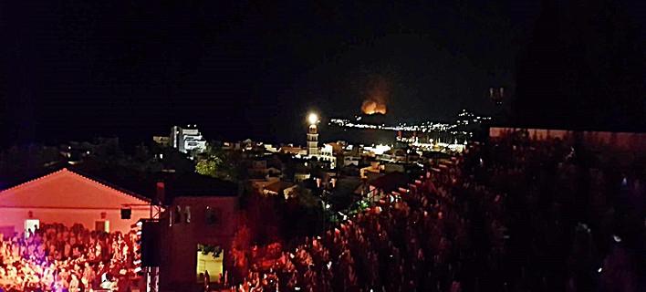 Πυρκαγιά στη Ζάκυνθο/ Φωτογραφία: Imerazante