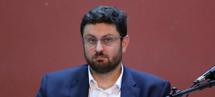 Ο διευθυντής της ΚΟ του ΣΥΡΙΖΑ Κ. Ζαχαριάδης -Φωτογραφία αρχείου: Intimenews/ΛΙΑΚΟΣ ΓΙΑΝΝΗΣ