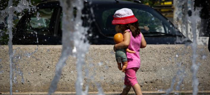 ζέστη στην Αθήνα/Φωτογραφία: Eurokinissi