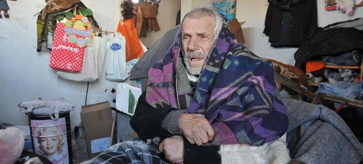 Πέθανε ο άστεγος του Ελληνικού