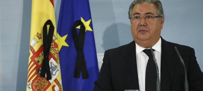 Αποτέλεσμα εικόνας για O υπουργός Εσωτερικών της Ισπανίας Χουάν Ιγνάθιο Θόιδο